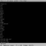 ncdu console disk usage