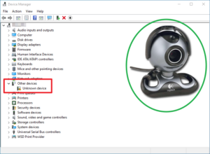 QuickCam 5000 Pro isn't recognized by the system automatically