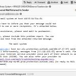 Microsoft 550 5.7.1 S3150 block list error